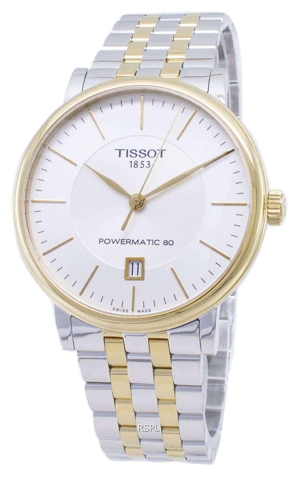 ティソ T-クラシックカーソン T 122.407.22.031.00 T1224072203100 Powermatic 80 メンズ腕時計