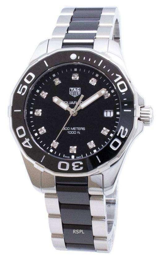 タグ・ホイヤーアクアレーサー WAY131C。BA0913 クォーツアナログ300M 女性用腕時計