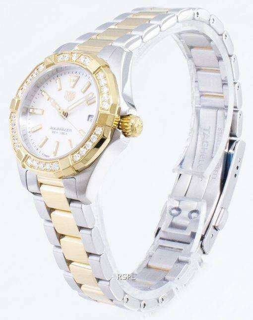 タグ・ホイヤーアクアレーサー WBD1421。BB0321 ダイヤモンドアクセントクォーツ300M レディース腕時計