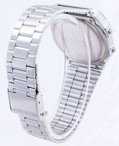 カシオヴィンテージ A168WEM-1 イルミネーターデジタルメンズ腕時計
