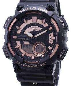 カシオ青年 AEQ-110W-1A3V AEQ110W-1A3V アナログデジタルメンズ腕時計