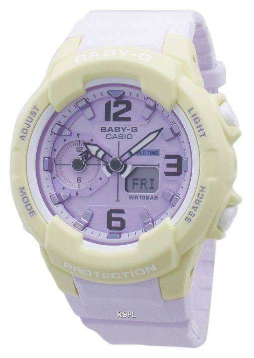 カシオベビー G BGA-230PC-9B 耐衝撃性女性用腕時計