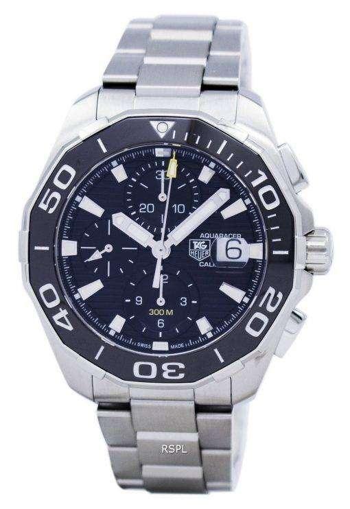 タグ ・ ホイヤー アクア レーサー クロノグラフ自動 300 M CAY211A。BA0927 メンズ腕時計