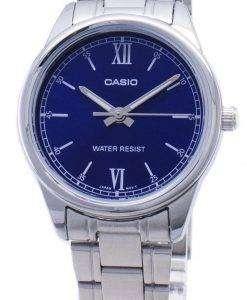 カシオ時計 LTP-V005D-2B2 LTPV005D-2B2 クォーツアナログレディースウォッチ