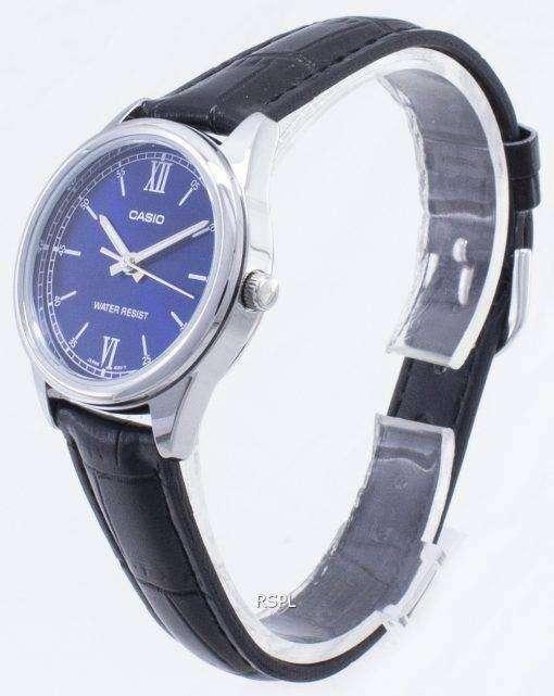 カシオ時計の LTP-V005L-2b LTPV005L アナログレディースウォッチ