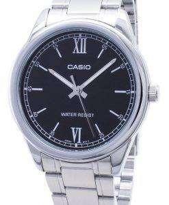 カシオタイムピース MTP-V005D-1B2 MTPV005D-1B2 クォーツアナログメンズ腕時計
