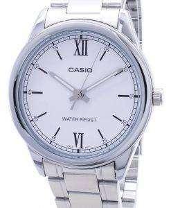 カシオタイムピース MTP-V005D-7B2 MTPV005D-7B2 クォーツアナログメンズ腕時計