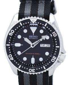セイコー自動ダイバーズ 200 M NATO ストラップ SKX007K1 NATO1 メンズ腕時計