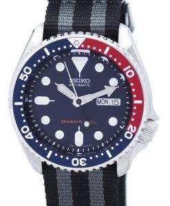 セイコー自動ダイバーズ 200 M NATO ストラップ SKX009K1 NATO1 メンズ腕時計