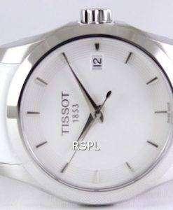 ティソ クチュリエ石英 T035.210.16.011.00 レディース腕時計