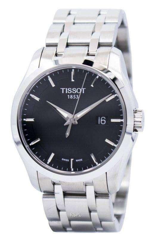 ティソ T 傾向のクチュリエ石英 T035.410.11.051.00 メンズ腕時計