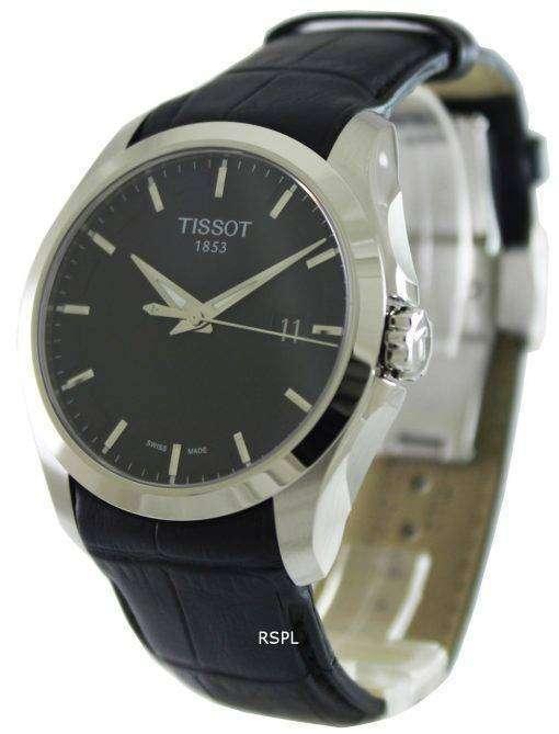 ティソ T 傾向のクチュリエ石英 T035.410.16.051.00 メンズ腕時計