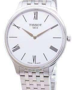 ティソ T-古典的な伝統 5.5 T063.409.11.018.00 T0634091101800 クォーツ メンズ腕時計