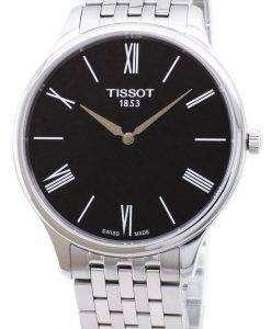 ティソ T-古典的な伝統 5.5 T063.409.11.058.00 T0634091105800 クォーツ メンズ腕時計