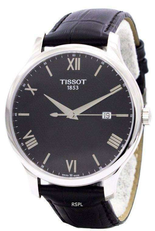 ティソ T-古典的な伝統 T063.610.16.058.00 T0636101605800 メンズ腕時計