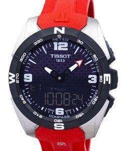 ティソの T-タッチ エキスパート太陽アラーム T091.420.47.057.00 T0914204705700 メンズ腕時計