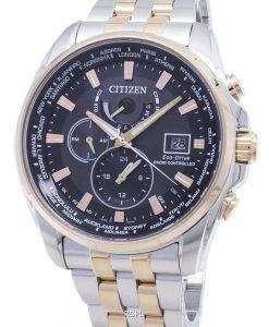 Citizen Eco-Drive AT9038-53Eラジコン200Mメンズウォッチ