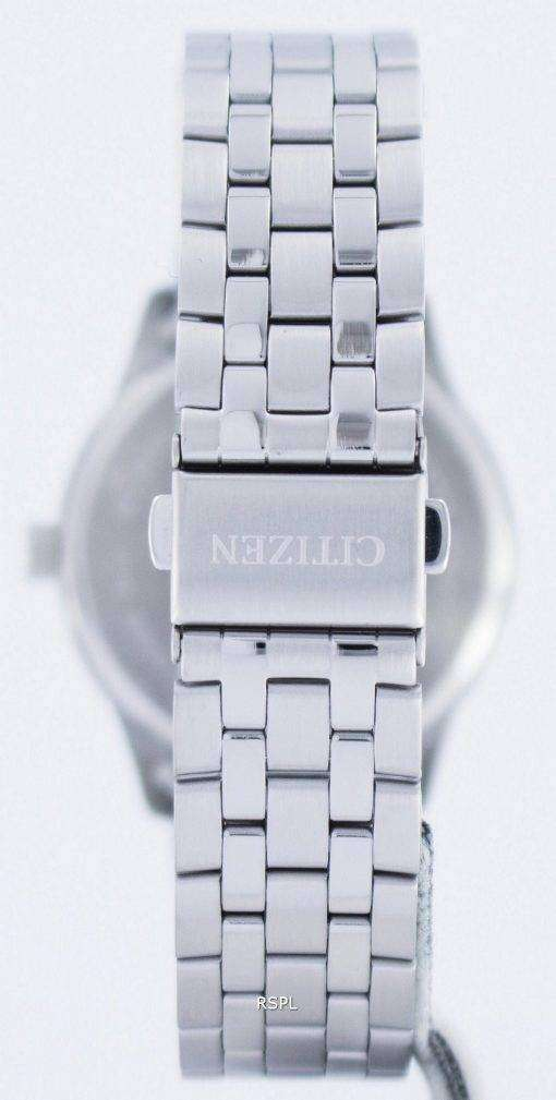 市民クオーツ ブルー ダイヤル BI1050-56 L メンズ腕時計