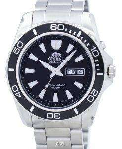 マコ自動 200 m のダイバー CEM75001BR メンズ腕時計をオリエントします。