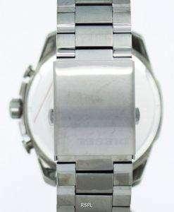 ディーゼル メガ チーフ クォーツ、クロノグラフ グレー ダイヤル ブラック IP DZ4282 メンズ腕時計