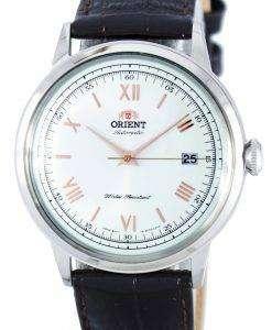 第 2 世代のバンビーノ バージョン 2 の自動パワー リザーブ FAC00008W0 メンズ腕時計オリエントします。