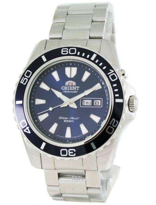 マコ自動 FEM75002D メンズ腕時計をオリエントします。