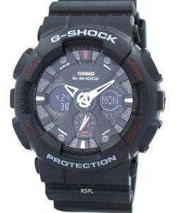 カシオ G-ショック-120-1 a 黒アナログ デジタル メンズ腕時計