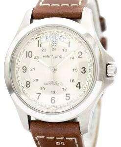 ハミルトン カーキ キング自動 H64455523 メンズは、腕時計します。