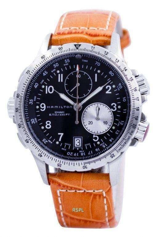 ハミルトン H77612933 カーキ ETO クロノグラフ メンズ腕時計