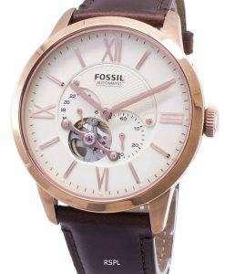 化石町民自動スケルトン ME3105 メンズ腕時計