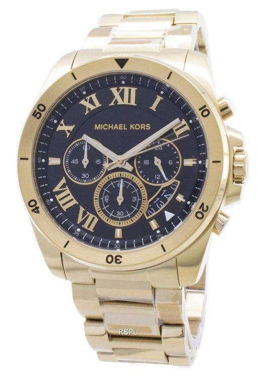 ミハエル Kors Brecken クロノグラフ クォーツ MK8481 メンズ腕時計