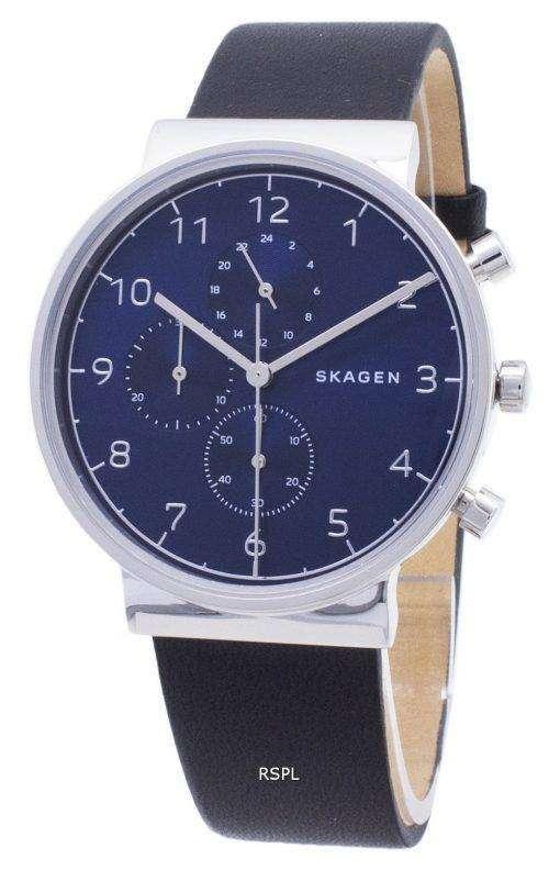 スカーゲンの支えクロノグラフ クォーツ SKW6417 メンズ腕時計