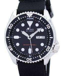セイコー自動ダイバーズ 200 M NATO ストラップ SKX007K1 NATO4 メンズ腕時計
