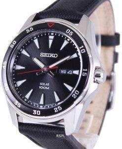 セイコー ソーラー 100 M SNE393P2 メンズ腕時計