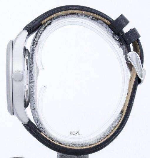 セイコー 5 スポーツ軍事自動日本製比黒革 SNZG07J1 LS10 メンズ腕時計
