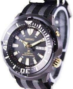 セイコー プロスペックス「赤ちゃんのマグロ」自動ダイバーの 200 M SRP641K1 NATO1 メンズ腕時計
