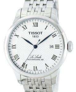 ティソ ルロクル Powermatic 80 自動 T006.407.11.033.00 メンズ腕時計