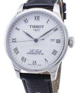 Tissot T  -  Classic Le Locle T006.407.16.033.00 T0064071603300パワーマティック80自動メンズウォッチ