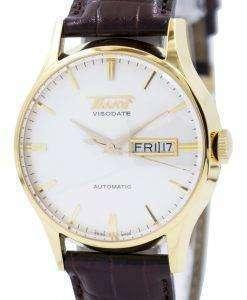 ティソ遺産 Visodate 自動 T019.430.36.031.01 メンズ腕時計