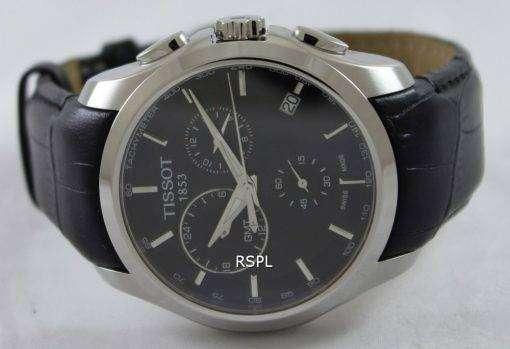 ティソ クチュリエ石英 GMT T035.439.16.051.00 メンズ腕時計