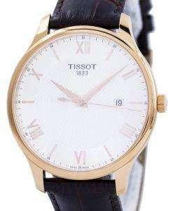 ティソ T-古典的な伝統水晶 T063.610.36.038.00 T0636103603800 メンズ腕時計