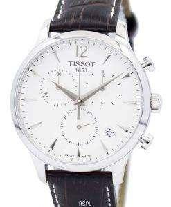 ティソ伝統クロノグラフ T063.617.16.037.00 メンズ腕時計