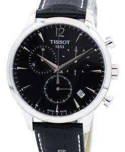 ティソ伝統クロノグラフ T063.617.16.057.00 メンズ腕時計