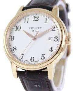 ティソ T-クラシック カーソン石英 T085.410.36.012.00 メンズ腕時計