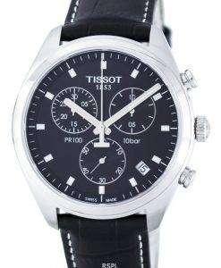 ティソ T-クラシック PR100 クォーツ クロノグラフ T101.417.16.051.00 T1014171605100 メンズ腕時計
