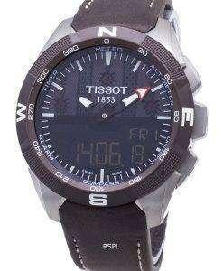 Tissot特別コレクションT-Touch Expert Solar T110.420.46.051.00 T1104204605100クォーツメンズウォッチ
