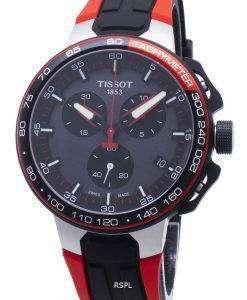 Tissot T-Sport T-レースサイクリングT111.417.27.441.00 T1114172744100タキメーターメンズウォッチ