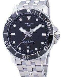 ティソ T-スポーツシースター T 120.407.11.051.00 T1204071105100 Powermatic 80 300M メンズ腕時計