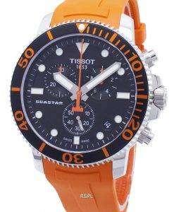 Tissot T-Sport Seastar 1000 T120.417.17.051.01 T1204171705101クロノグラフ300Mメンズウォッチ