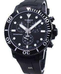 Tissot T-Sport Seastar 1000 T120.417.37.051.02 T1204173705102クロノグラフ300Mメンズウォッチ